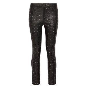Rag & bone Hyde studded leather skinny pants